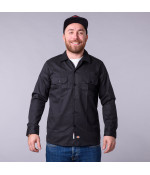 Dickies LONG SLEEVE SLIM WORK SHIRT BK