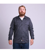 Dickies LONG SLEEVE SLIM WORK SHIRT CH