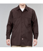 Dickies LONG SLEEVE WORK SHIRT DB