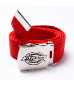 Dickies CANVAS BELT RED DOPLNKY: ONE SIZE