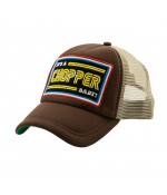 13 and a half magazine 13 1/2 IACB TRUCKER CAP BROWN DOPLNKY: ONE SIZE