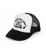 13 and a half magazine 13-1/2 TRUCKER 5-PANEL MESH CAP DOPLNKY: ONE SIZE