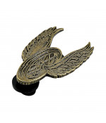 BILTWELL ENAMEL PIN WINGED WHEEL ANTIQUE WEATHERED DOPLNKY: ONE SIZE