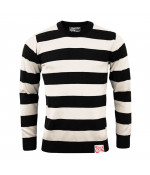 13 and a half magazine 13-1/2 OUTLAW SWEATER BLACK/OFF WHITE