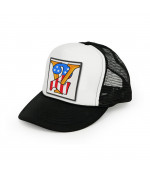 13 and a half magazine 13 1/2 V2 TRUCKER CAP BLACK DOPLNKY: ONE SIZE