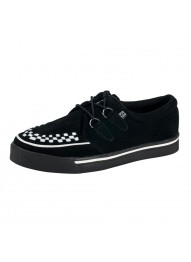 T.U.K. Shoes Creeper Sneaker Originals Black Suede