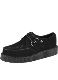 T.U.K. A7270 BLACK SUEDE LOW SOLE CREEPER