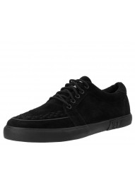 T.U.K. Black Suede No-Ring VLK Sneaker