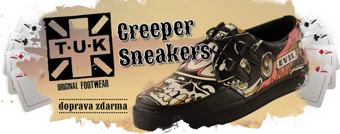 T.U.K. Creeper Sneakers